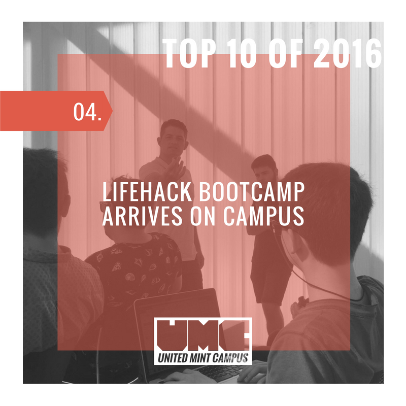 United Mint Campus Top 10 if 2016 Lifehack Bootcamp Arrives in Spain.